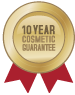 10 Year Cosmetic Warranty on All Fibreglass Pools