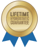 Lifetime Hydrostatic Guarantee on Fibreglass Pools