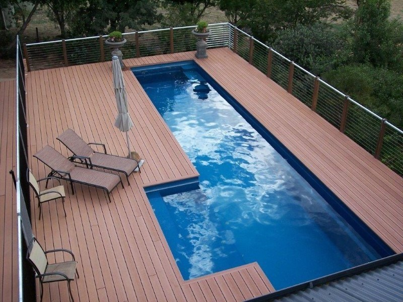 Above ground fibreglass pools maxi rib technology for Fibreglass swimming pool prices