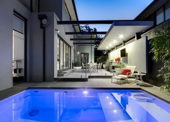 Compass Pools Plunge and Courtyard Pool Shape