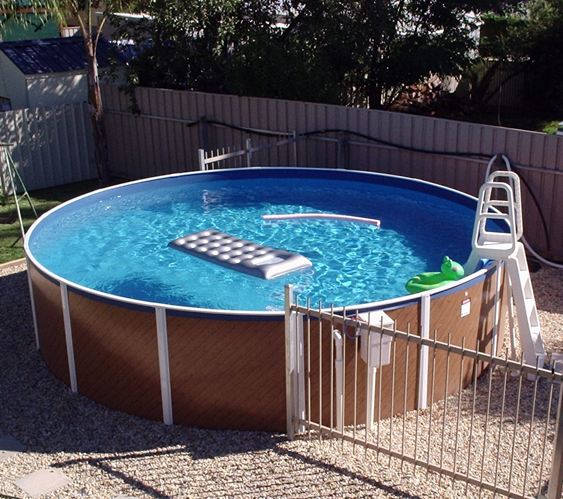 Donehues leisure above ground swimming pools sterns south for Above ground pool buying guide