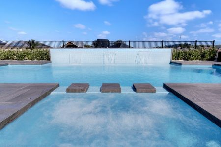 Smart pools concept for more enjoyable and easier swimming pools
