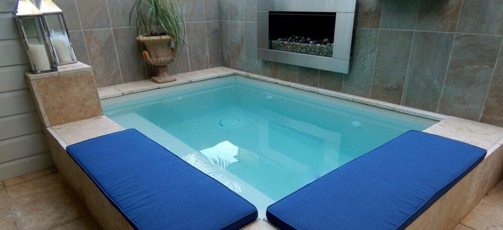 Relax by your own plunge pool