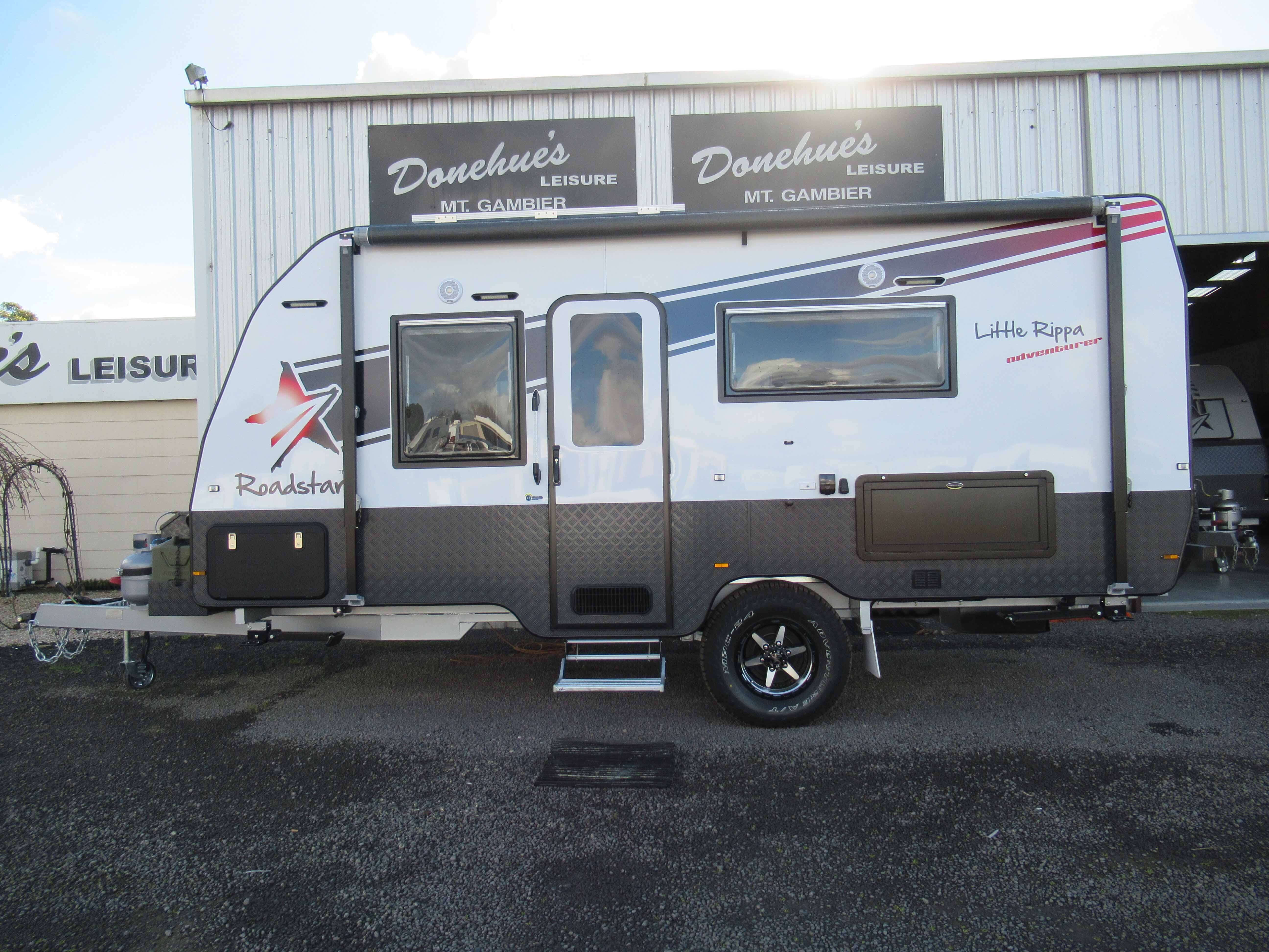 Donehues Leisure New Roadstar Little Rippa Adventure Caravan Mt Gambier 12263 24